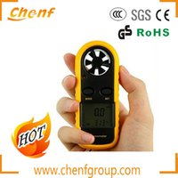 anemometer wind vane - Pieces in Portable Digital Anemometer m s Vane Wind Speed Meter Wind Thermometer GM816