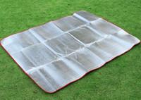Wholesale Camping Hiking Festival Aluminium Sleeping Mat Damp Proof