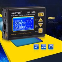 Wholesale Professional Dual axis Angle Meter High Precision Digital Laser Level Inclinometer Fine Angle Protractor with LCD Display