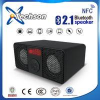alarm clock phone bluetooth - 2015 SOMHO S319 Dual Speakers Bluetooth Speaker With Alarm Clock Audio Function Usb Portable Wireless Mini Bluetooth Speaker