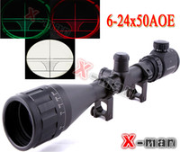 sniper scope - 6 x50 AOE Riflescope R G illuminated Riflescope Reticle Shotgun Rifle sniper Scope for hunting