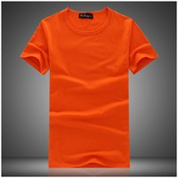 plain jerseys - 2015 Men T Shirt Crew Neck Short Sleeve Tshirt Slim Fit Cotton Plain Solid Shirts Tommy Hip Hop Sports Jersey Summer Men s Tops Blouse