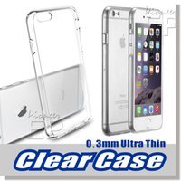 clear iphone case - Iphone s and s plus Ultra thin Case mm Crystal Clear Samsung Case Gel TPU Transparent Skin Scratch Proof Clear Hard Back Soft Case