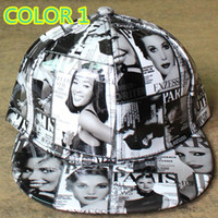 adult magazines - FASHION EUROPEAN AMERICAN MAGAZINE EMBROIDERED STINGY BRIM HATS MEN WOMEN Knit Hats And Snapback Caps SPRING Winter