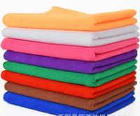 Wholesale High Quality Microfiber Cleaning Towel Car Washing Nano Cloth Dishcloth Bathroom Clean Towels Rectangle x70cm