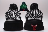 Wholesale new style BULLS spring Autumn Winter Beanie Men Women Wool