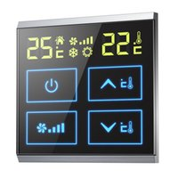 Wholesale Win crown central air conditioning fan coil thermostat touch screen LCD refrigeration temperature switch temperature controller