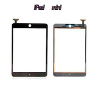 Wholesale Front Touch Screen for iPad Mini Mini Tempered Glass Lens OEM Compactive Screen Without IC Replacement Part White Black for iPad Mini2