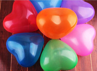 Wholesale 10inch1 g latex heart shaped balloon Christmas birthday wedding festival party decoration balloons