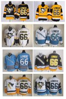 Wholesale Top Quality Men Pittsburgh Penguins Ice Hockey Jerseys Cheap Mario Lemieux Jersey Throwback Vintage CCM Stitched Jerseys Mix Order