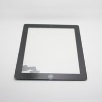 Wholesale Touch Screen Glass Digitizer Assembly with Home Button M Adhesive Glue Sticker Replacement Repair Parts for iPad