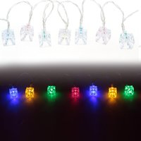 Wholesale LIXADA m LED Multicolor Ice Block Lamp Fairy String Light for Party Wedding Christmas Home Room Outdoor Decoration order lt no track