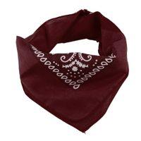 bandanna head wrap - Cotton Bandana Bandanna Head Wrap Hairwrap Scarf Biker Wristband