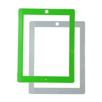 Wholesale 20PCS for ipad outer front glass lens screen cover protector for ipad replacement