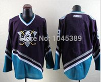anti center - Factory Outlet cheap no Number no name blank Anaheim Mighty Ducks Jersey CCM Center Ice Vintage ice hockey Stitched Jersey