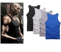 tights for men - Hot summer KOBE Pro Combat NO sleeve t shirt Thermal tracksuit for men Elastic muscle tights Bodybuilding sportwear Plus size