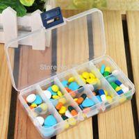 aids videos - Container tablets first aid kit plastic Rectangular grid kit storage box jewelry box pill box pilule box Watch video below