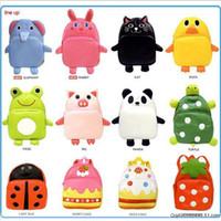 Wholesale NEW Hot Sale Children Cute Pu Leather Backpack Kids Cartoon Animal School Bag Kindergarten Satchels Mochila Bolsas
