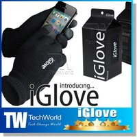 Wholesale IGlove Capacitive Touch Screen Gloves Capacity Touch Glove Touch Screen Gloves for iphone C S for ipad for smart phone Winter Gloves