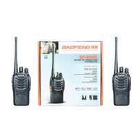 Wholesale DHL Free Ship D Baofeng Dual Band Two Way Radio BF S Walkie Talkie W MHz UHF radio