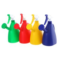 Wholesale Thicken Dual Purpose Watering Can Hand Pressing Type Spray Bottle Adjustable Nozzle Multifunction Garden Gardening Tool L
