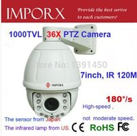 Wholesale Analog TVL high speed dome PTZ Camera with x zoom cctv camera M IR for outdoor waterproof