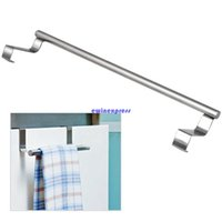 kitchen drawers - New top quality Modern Stainless Steel Over Door Kitchen Tea Towel Racks Rail Drawer Holder Cloth
