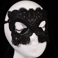 allure party dress - Women Allure Black Cat Eyes Lace Face Sexy Mask Masquerade Hollow Masque Cutout Fancy Dress Venetian Carnival Halloween Party