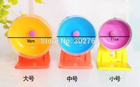 Wholesale 2015 New mute Hamster wheel movement cm multicolor Small Pet Toys Petshop Supplies Animal Cage Accessories
