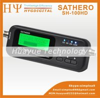 Wholesale Original Sathero SH HD Pocket Digital Satellite Finder Satellite Meter HD Signal Sat Finder with DVBS2 USB