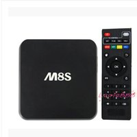 Wholesale KODI Installed M8S K H S812 Android Smart TV BOX Movie Sports Live TV Google Play Media Player MAG MAG MAG IPTV Rooted