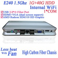 amd linux - pc media centre with RS232 internal wifi HDMI AMD E240 Ghz P dual screen display G RAM G HDD Windows XP or or linux