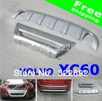 Cheap Auto Front Bumper Rear Bumper Cover Decoration ABS Chrome (2pc set) For VOLVO XC60 2010 11 12 - Free Shipping