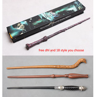 Wholesale free dhl harry potter style collection harry potter magic Wand high quality cosplay christmas gift