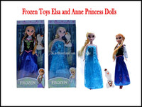 Wholesale Christmas Gift Frozen Dolls Toys Princess Anna Elsa and Olaf For Kids Girls the Best Welcome Gift For the Children Frozen Figure Play Set