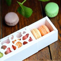 candy packaging supplies - gift macaron paper box with window and food bakery packaging for cookie cholocate candy party supplies