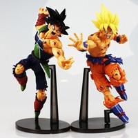 Wholesale Dragon Ball Z Resurrection F Super Saiyan Son Gokou Bardock PVC Action Figure Collectible Model Doll Toys cm With Box