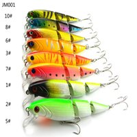 artificial eyes - 100 New Brand Sections Road sub multi section Laser Body mm g Fishing Popers Lures Hard Artificial Baits with D Eyes ak052