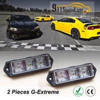 warning light - G Extreme Vehicle LED Strobe Warning Light Slave Surface Mount Lighthead x w LED