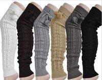 wool boot socks - Latest New Winter Women s Knit Crochet Leg Warmers Knitted Wool Casual Warm Boot Wollen Socks For Lady Knee Socks