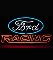 auto super store - Super Bright Ford American Auto Fordd Racing Neon Sign Store Display Handcrafted Nikke Air Jorrdan Neon Sign Glass Tube x15