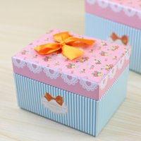 Wholesale Small pure and fresh and gift boxes