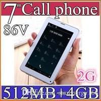Wholesale 100PCS Colorful Inch V A13 G GSM Phone Sim Calling Tablet PC f Android GB M RAM Dual Camera Capacitive Screen Wifi PB07