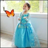 Cheap Elsa Dress Best Cosplay Costume