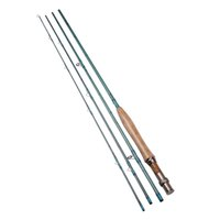 Wholesale 9ft M Sections Carbon Fly Fishing Rod g oz Saltwater Freshwater Fly Rod w A Grade Cork Handle