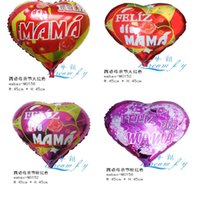 Wholesale Hot sell a happy mother s day cartoon foil balloon party decoration balloon