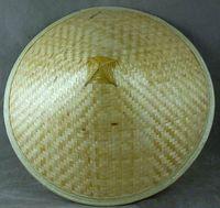 asian sun hat - Oriental Straw Cone Garden Fishing Sun Rice BAMBOO HAT Vietnamese Chinese Asian