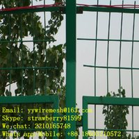 Wholesale PE Green Wire Mesh Fence With Degree On The Top Frame