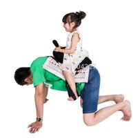 Wholesale Piece Happy Family Parenting Games Daddle Saddle Horse Toy Play horse with your father