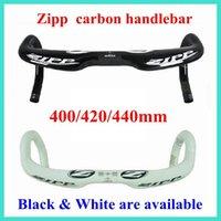 Wholesale 2014 Z ipp Speed Weaponry Road Bike Handlebar With Size mm k Full Carbon Fiber Bike Parts Black White Bike Parts Good Quality